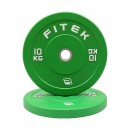 Pre-Order 10kg Pair Virgin Rubber Colour Bumper Plates V3 ETA 05/08