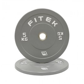 5kg Pair Virgin Rubber Colour Bumper Plates V3