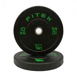 10KG Pair Integrated Bumper Plates V2