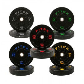 150KG Integrated Bumper Plates V3 Package