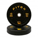 100KG Integrated Bumper Plates Package V2