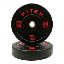 25KG Pair Integrated Bumper Plates V2
