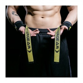 FITTERGEAR Anti-slip Pulling Straps With Wrist Wrap