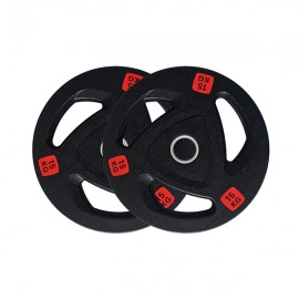 Pre-Order 15kg Pair Premium Olympic Weight Plates Rubber Coated ETA 17/08