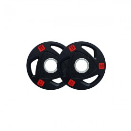 2.5kg Pair Premium Olympic Weight Plates Rubber Coated